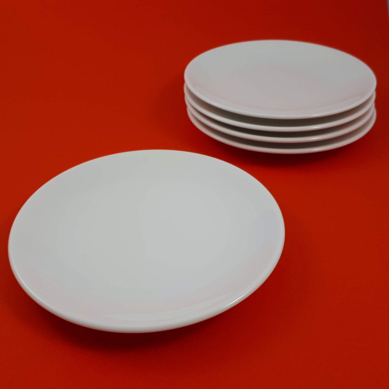 Stipstijl bord 17,5cm set van 5