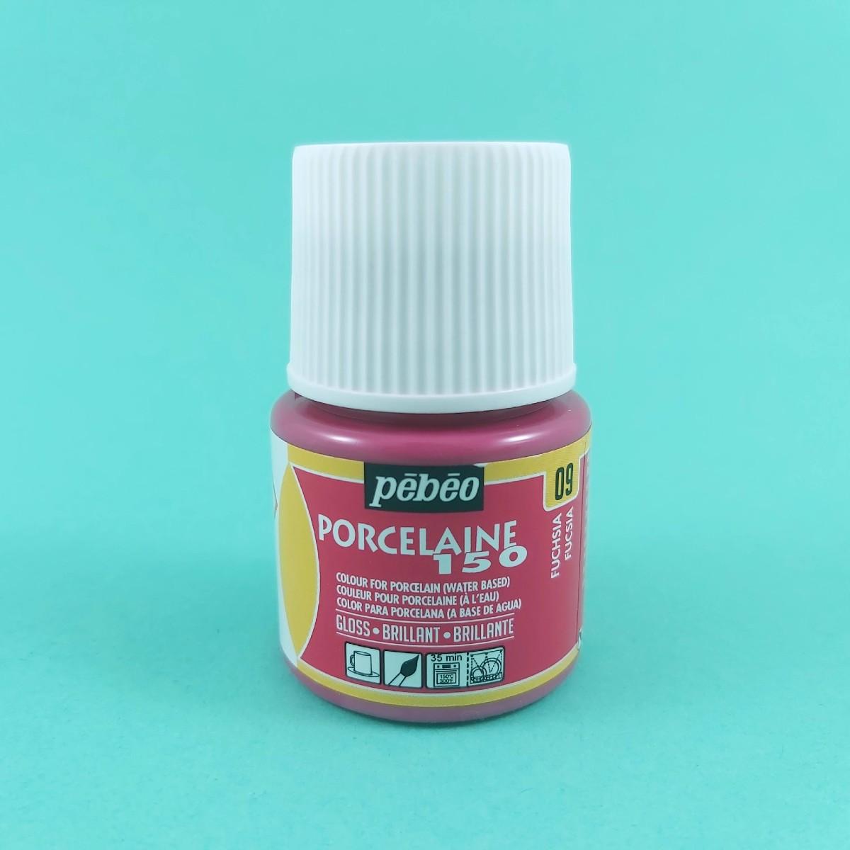 Pébéo Porseleinverf Stipstijl 09 - Fuchsia