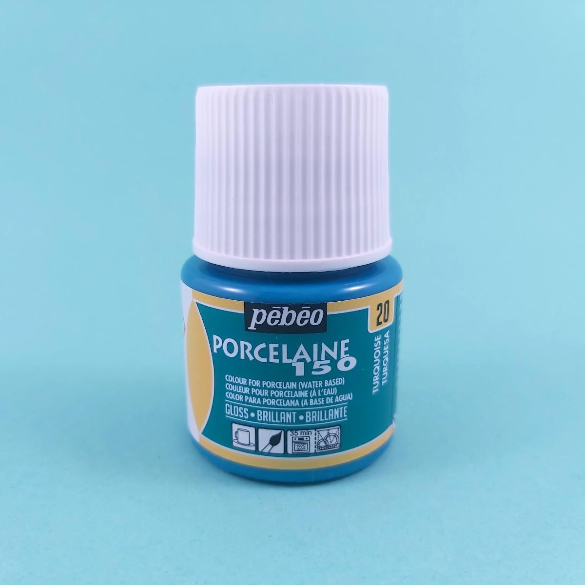 Pébéo Porseleinverf Stipstijl 20 - Turquoise