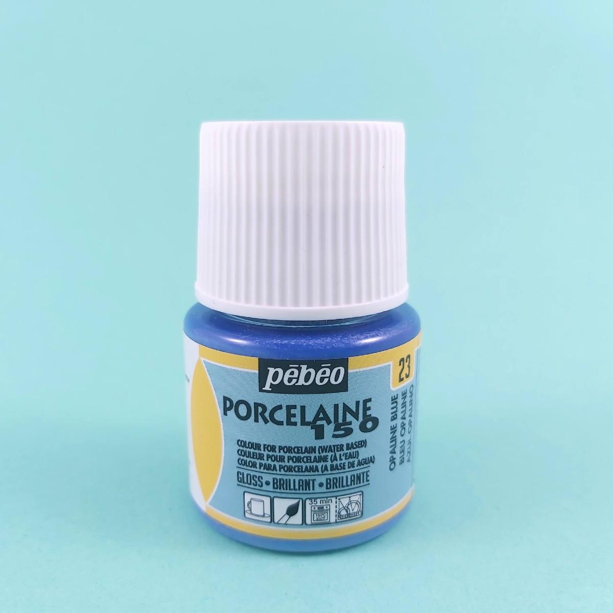 Pébéo Porseleinverf Stipstijl 23 - Opaline Blue