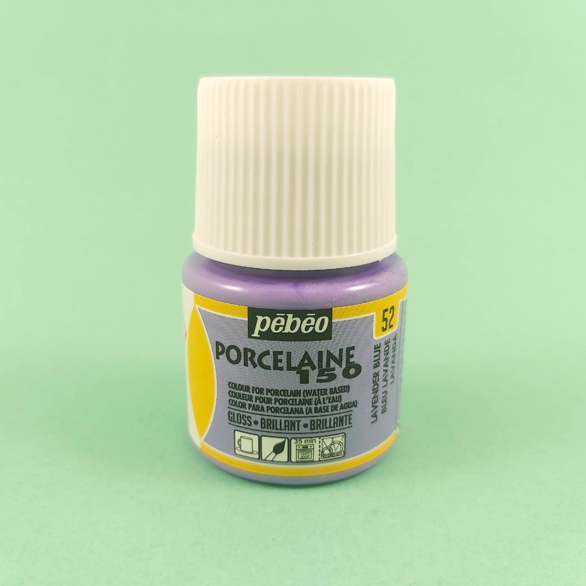 Pébéo Porseleinverf Stipstijl 52 - Lavender Blue