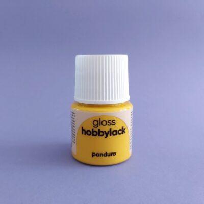 Stipstijl_Hobbylack_acrylverf_geel